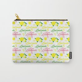 Lime Lemonade Carry-All Pouch