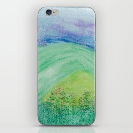 Violets in the Summertime iPhone Skin