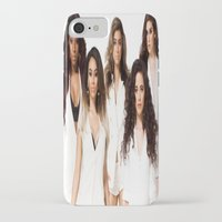fifth harmony iPhone & iPod Cases featuring Fifth Harmony by Raquel S