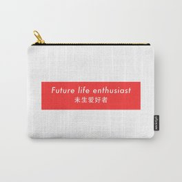 Future Life Enthusiast Carry-All Pouch