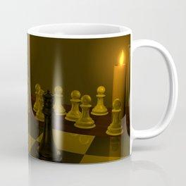 A Game of Chess 3D Modeled Scene Coffee Mug