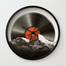 Retro vinyl record Wall Clock