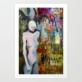 Flightless Art Print