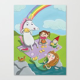 Magical Summer Canvas Print