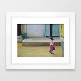 African Girl Framed Art Print