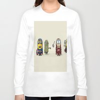 minion Long Sleeve T-shirts featuring Minion Avengers by CforCel