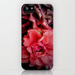 Leadlight Roses iPhone Case