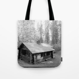 MERCED GROVE RANGER STATION ON COULTERVILLE ROAD Tote Bag