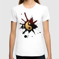 ying yang T-shirts featuring Ying-Yang by Jessica Jimerson