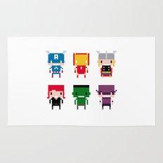Pixel Avengers Rug