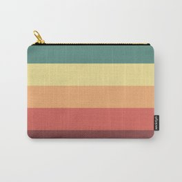 Retro Stripes Carry-All Pouch
