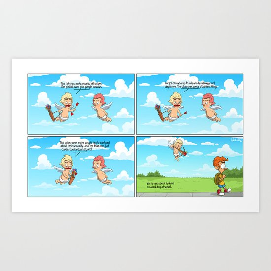 Cupid's Arrows Art Print