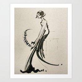 The Pianist Art Print