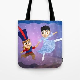 The Nutcracker Ballet. Cassandra and Varric Tote Bag
