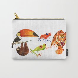 Rainforest animals 2 Carry-All Pouch