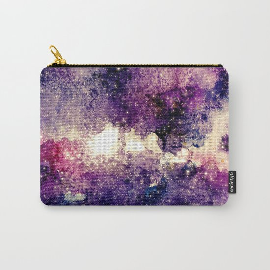 watercolor galaxy Carry-All Pouch