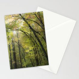 Trees in October 2 Stationery Cards