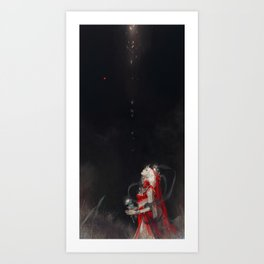 eternal bride Art Print