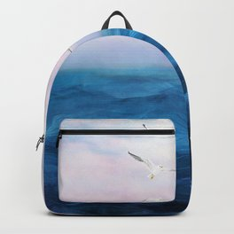 Watercolor Sea 5 Backpack