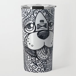 Tangle Dog Copper Travel Mug
