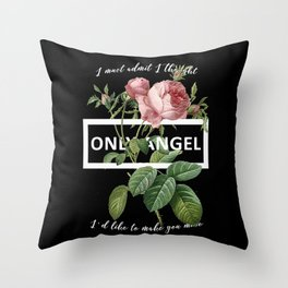 Harry Styles Only Angel Artwork Throw Pillow