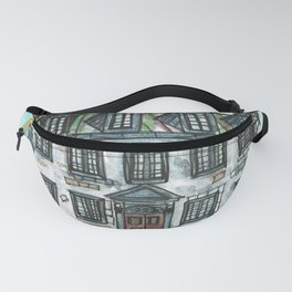 Vieux Montreal Building Fanny Pack