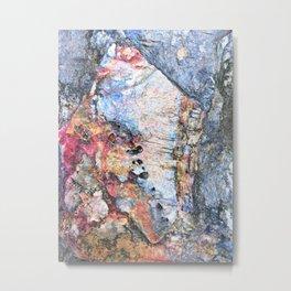 Stone Fresh Metal Print