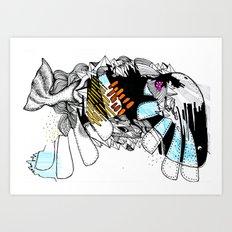 Wal Art Print