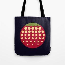 strawberry || russian black Tote Bag