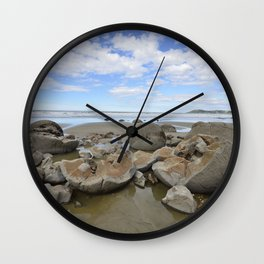 Broken Bolders Wall Clock