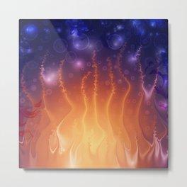 Laughing Flame Metal Print