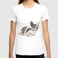 sphynx T-shirts featuring Sphynx by Mariel Castro