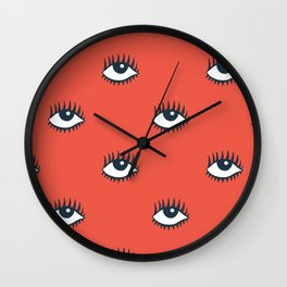 EYES POP Wall Clock