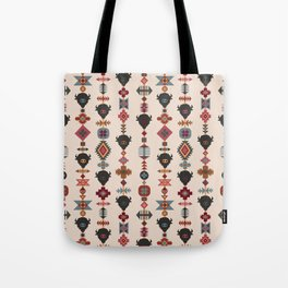 American Prairie Ethnic Tribal Seamless Pattern Tote Bag