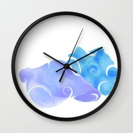 Treasures of the Sea Wall Clock