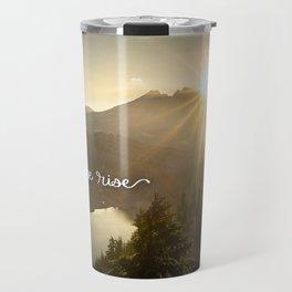 Let Hope Rise Travel Mug