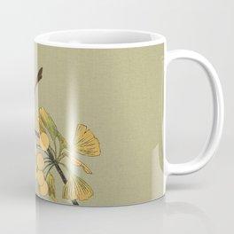 Bird in Ginkgo Tree Coffee Mug