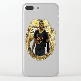KYRIE RING CAVS Clear iPhone Case