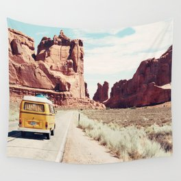 Endless Explore to the World Wall Tapestry