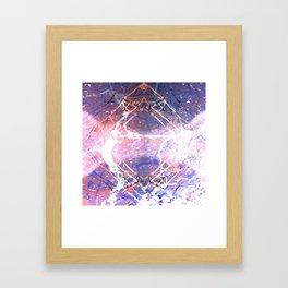 Abstract Ripple Reflection Framed Art Print