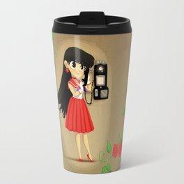 Retro Sailor Mars Travel Mug