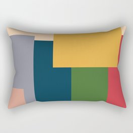 Me And The Boys Meme In Abstract Style Rectangular Pillow
