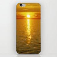 swedish iPhone & iPod Skins featuring Swedish Sunset by LesImagesdeJon