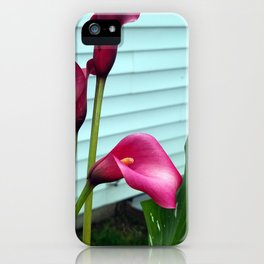 Lily red iPhone Case