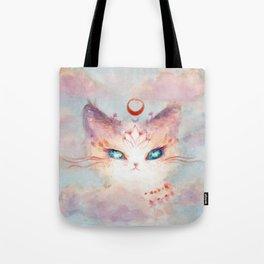 Stargazer Cat : Vision Seeker Tote Bag