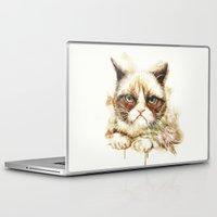 nope Laptop & iPad Skins featuring Nope by beart24
