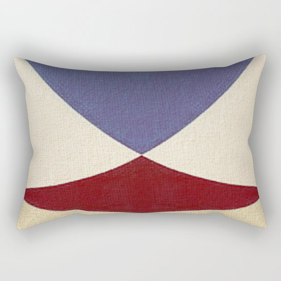 Lucha Libre Mask 4 Rectangular Pillow