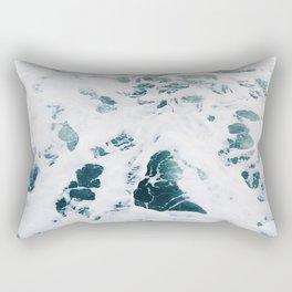 The Ocean Water (Color) Rectangular Pillow