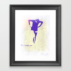 Woman Emerging (k) Framed Art Print