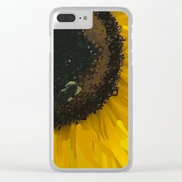 Sunshine and bees Clear iPhone Case